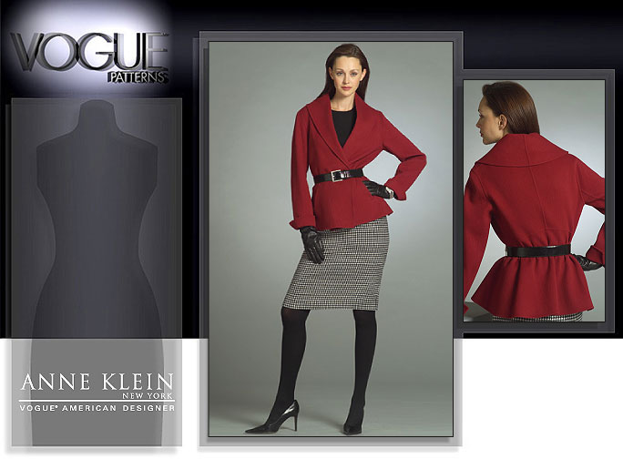 Vogue Patterns MISSES' JACKET AND SKIRT 2984