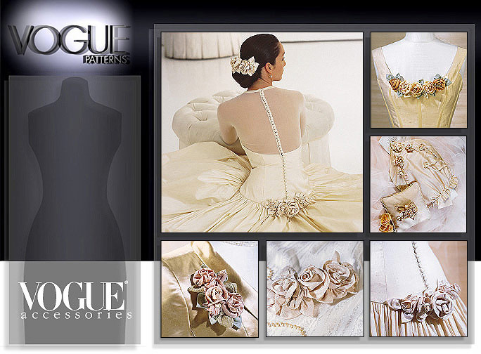 Vogue Patterns Bridal Accents 7009