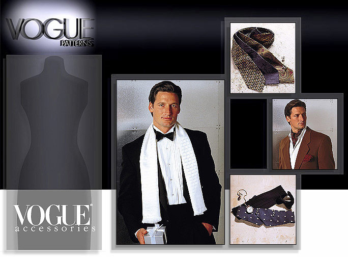 Vogue Patterns Men's Accessories 7104