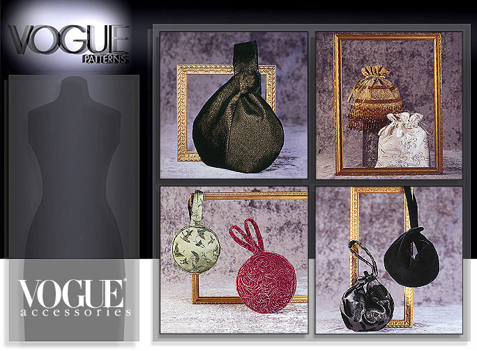 Vogue Patterns Evening Bags 7354