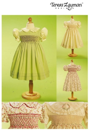 Vogue Patterns Children's Dress & Transfer 7435