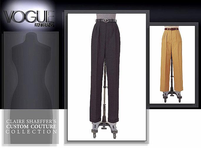 Vogue Patterns Misses'/Misses' Petite Pants 7468