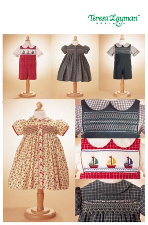 Vogue Patterns Toddlers' Dress, Shirt & Overalls 7504