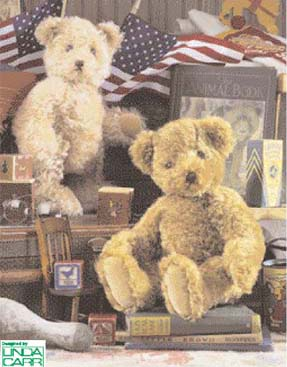 Vogue Patterns Teddy Bears With Anniversary Medallion Package 7534