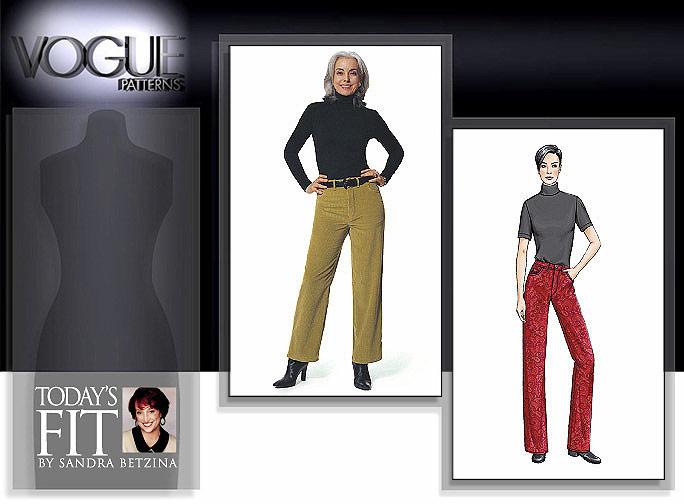 Vogue Patterns Misses' Jeans 7608
