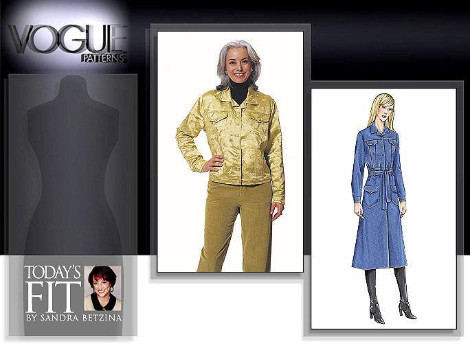 Vogue Patterns Betzina Jean Jacket 7610