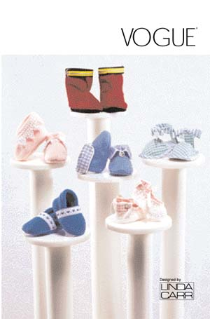 Vogue Patterns Baby Booties Package 7707