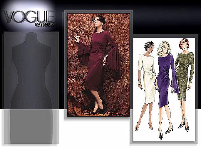 Vogue Patterns MISSES' DRESS 7762