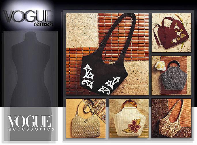 Vogue Patterns purses 7812