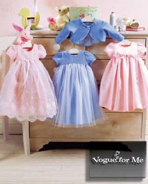 Vogue Patterns INFANTS' JACKET AND DRESS 7818