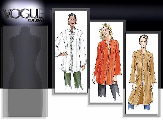 Vogue Patterns MISSES'/MISSES' PETITE TUNIC 7854