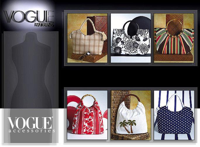 Vogue Patterns SUMMER HANDBAGS 7889