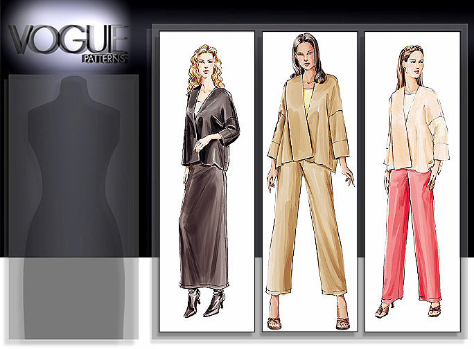 Vogue Patterns Jacket 7916