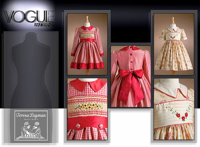Vogue Patterns CHILDREN'S DRESS 7958