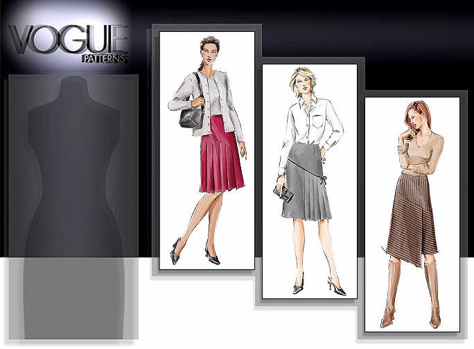 Vogue Patterns A-Line Skirts 7971