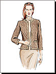 Vogue 7975 Pattern ( Size 12-14-16 )