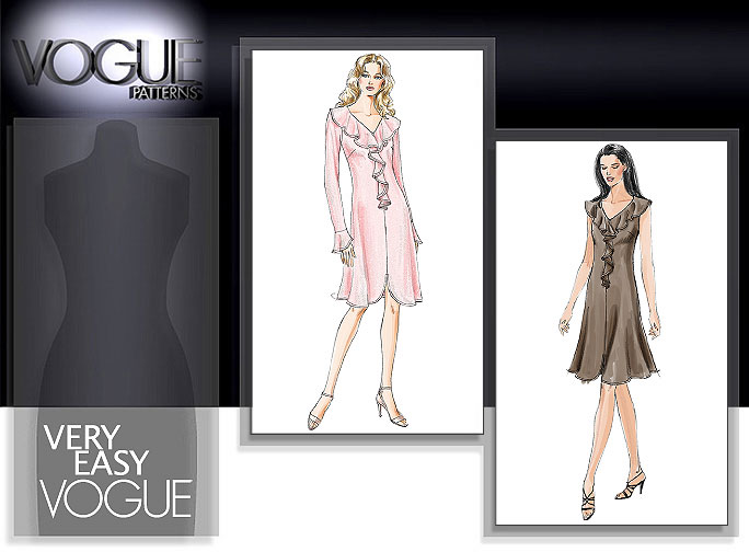 Vogue Patterns Misses Dress 7991