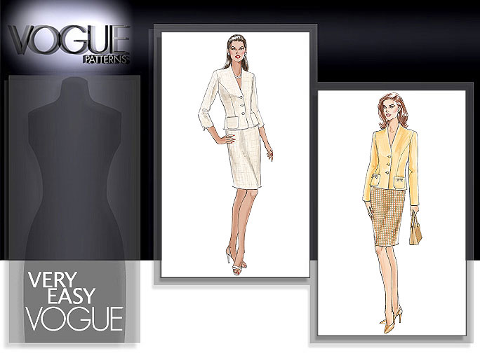 Vogue Patterns Jacket and skirt 8004