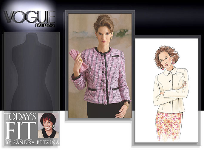 Vogue Patterns Today's Fit by Sandra Betzina 8043