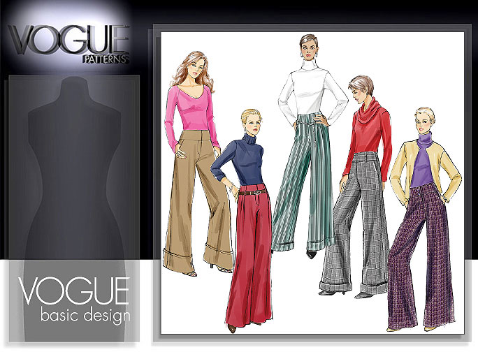 Vogue Patterns MISSES'/MISSES' PETITE PANTS 8131