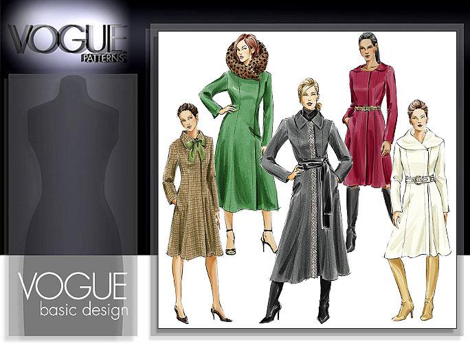 Vogue Patterns A-line coat 8165