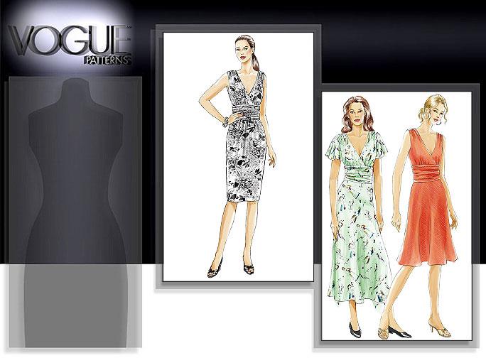 Vogue Patterns MISSES' DRESS 8182