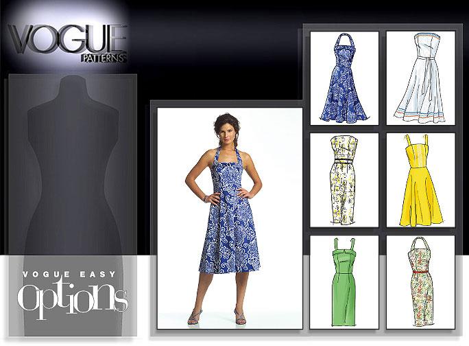 Vogue Patterns MISSES/MISSES' PETITE DRESS 8184
