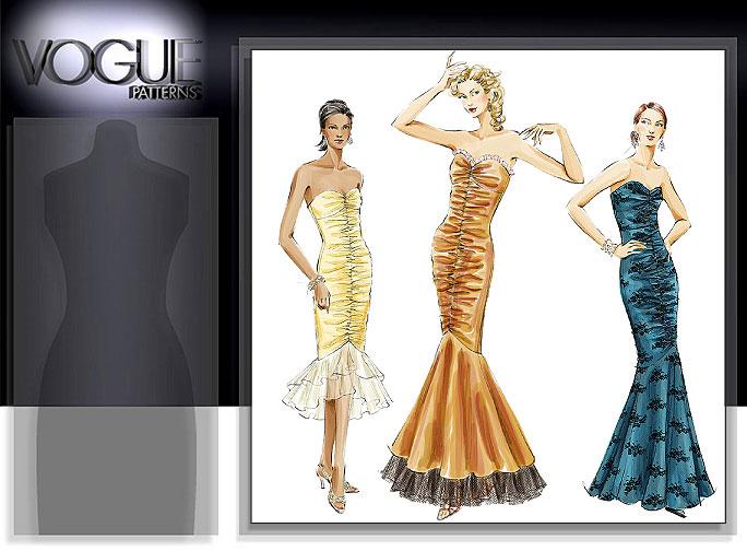 Vogue Patterns MISSES'/MISSES' PETITE DRESS 8190