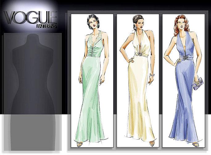 Vogue Patterns MISSES' DRESS 8191