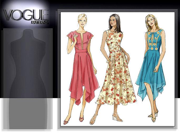Vogue Patterns MISSES' DRESS 8234