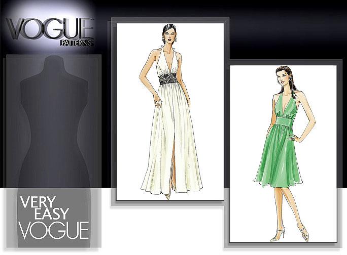 Vogue Patterns MISSES' DRESS 8240