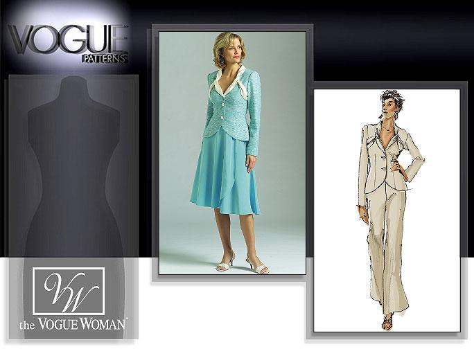 Vogue Patterns Jacket, Skirt, and Pants 8266