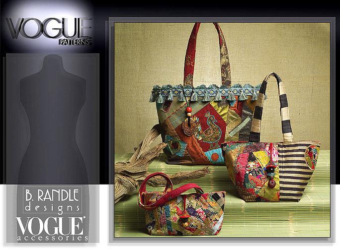 Vogue Patterns HANDBAGS AND TOTE 8273