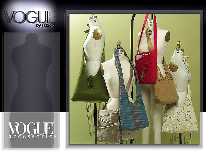 Vogue Patterns SHOULDER BAGS 8274