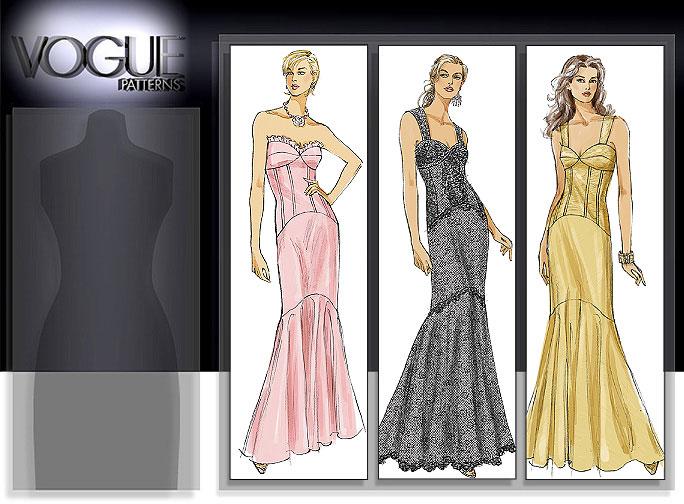 Vogue Patterns MISSES' DRESS 8288