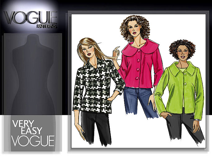 Vogue Patterns MISSES'/MISSES' PETITE JACKET 8300