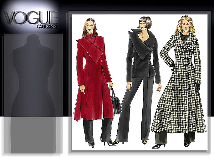 Vogue Patterns MISSES' JACKET AND COAT 8307