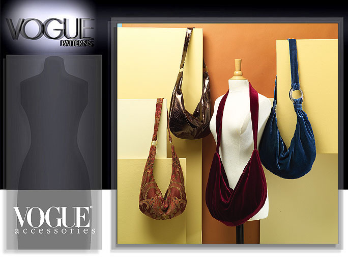 Vogue Patterns HOBO BAGS 8310