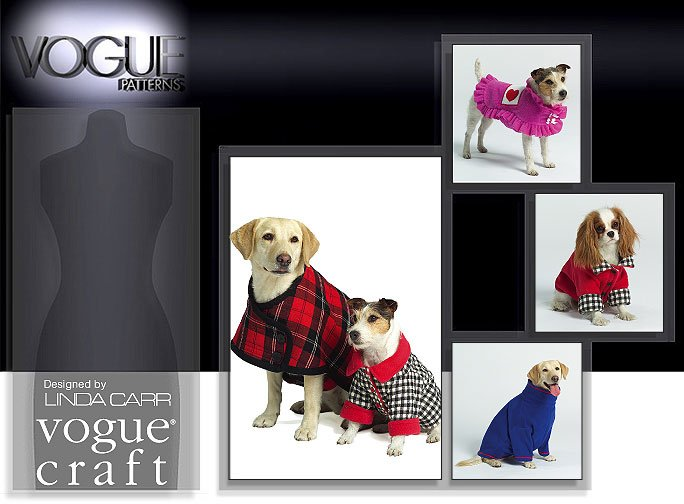 Vogue Patterns DOGS' COAT 8312