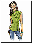 Vogue 8323 Pattern ( Size 8-10-12-14 )