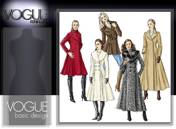 Vogue Patterns MISSES' COAT 8346