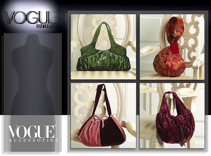 Vogue Patterns BAGS 8347