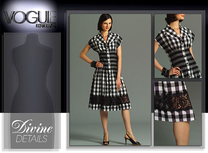 Vogue Patterns MISSES' DRESS 8353