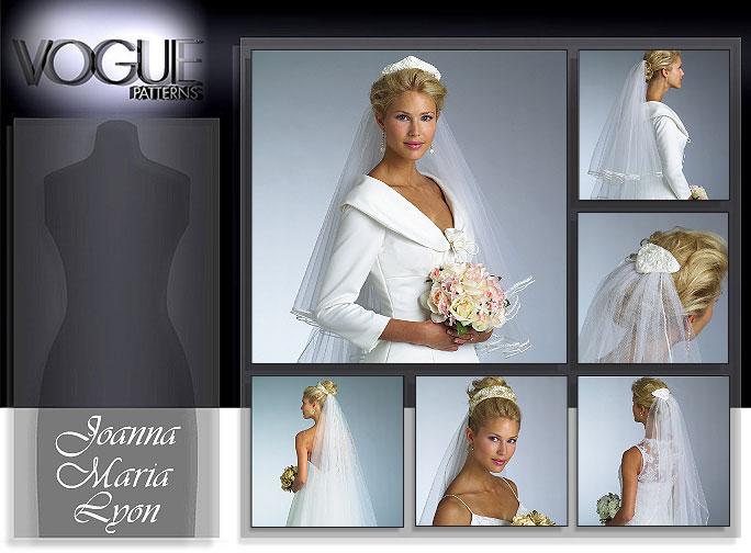 Vogue Patterns BRIDAL VEILS 8374