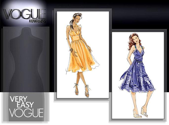 Vogue Patterns MISSES' DRESS 8381
