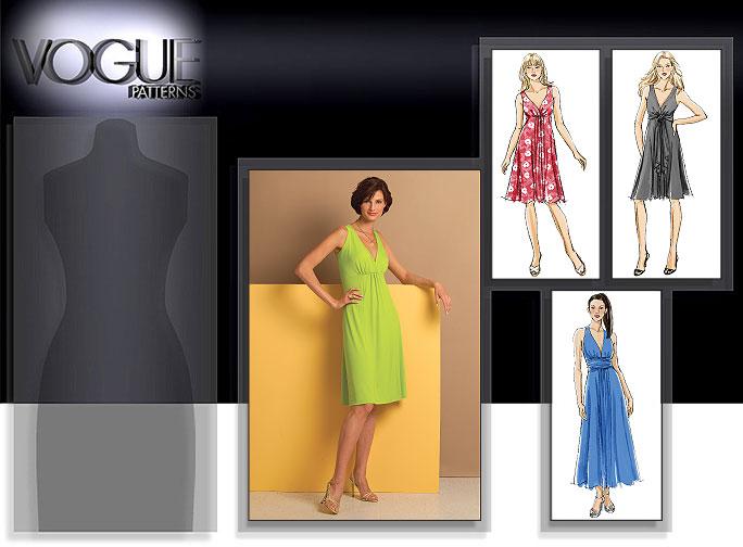 Vogue Patterns MISSES' DRESS 8386