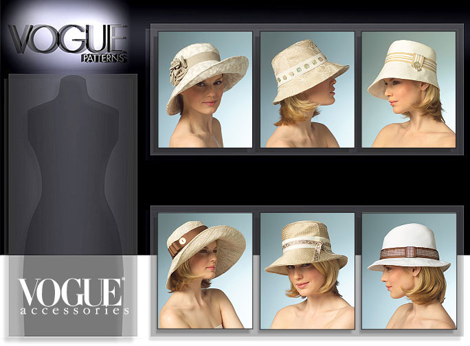 Vogue Patterns HATS 8405