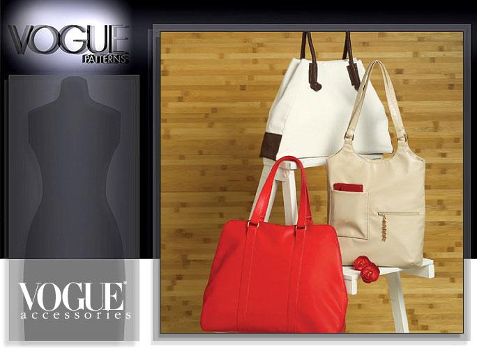 Vogue Patterns HANDBAGS 8406