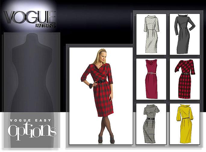 Vogue Patterns MISSES' DRESS 8413