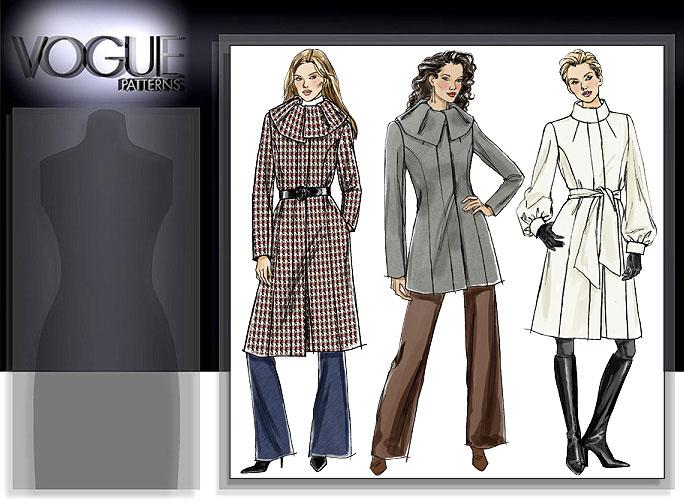 Vogue Patterns MISSES'/MISSES' PETITE JACKET, SASH, SKIRT AND PANTS 8438